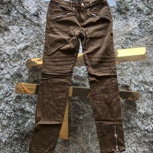 JOE'S Jeans with Gold Zipper Detailing W28